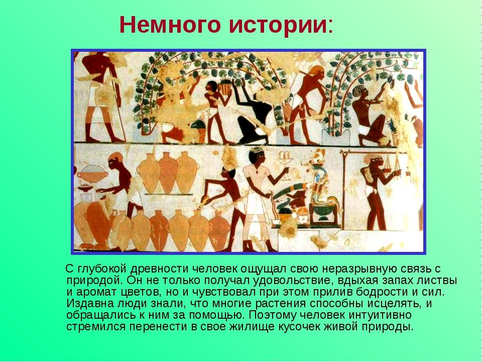 С глубокой древности человек ощущал свою неразрывную связь с природой. Он не...