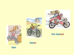 fast faster the fastest