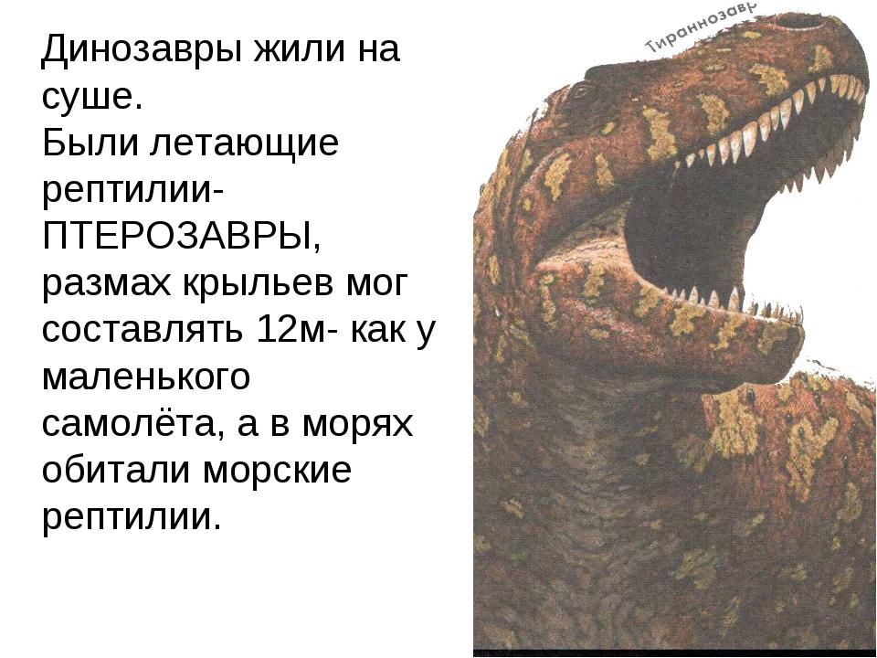 Занимательные истории про динозавров
