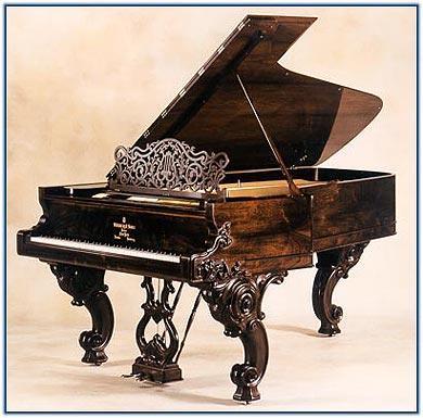 История изобретения фортепиано(рояля,пианино) - Золото Нибелунгов
