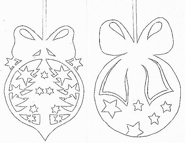 Новогоднее украшение на окно из бумаги своими руками