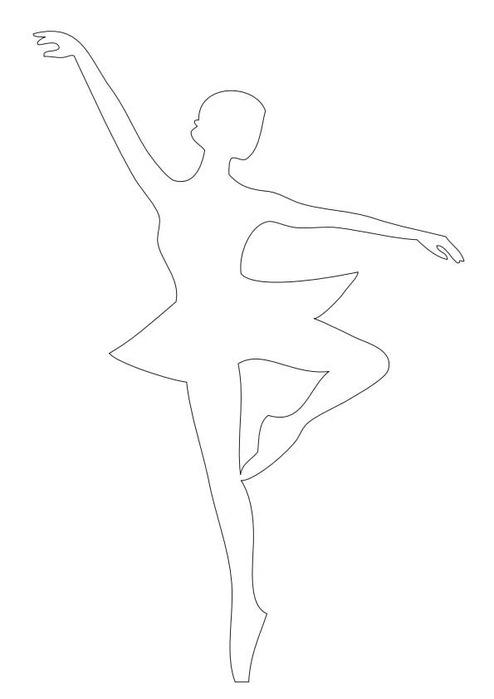 Как сделать снежинку балерину своими руками