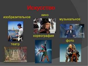 Искусство изобразительное театр хореография кино музыкальное фото