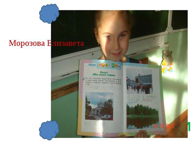 САЛФЕТКИ Морозова Елизавета