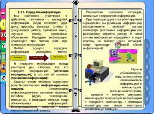 § 1.5. Передача информации Мы постоянно участвуем в действиях, связанных с пе