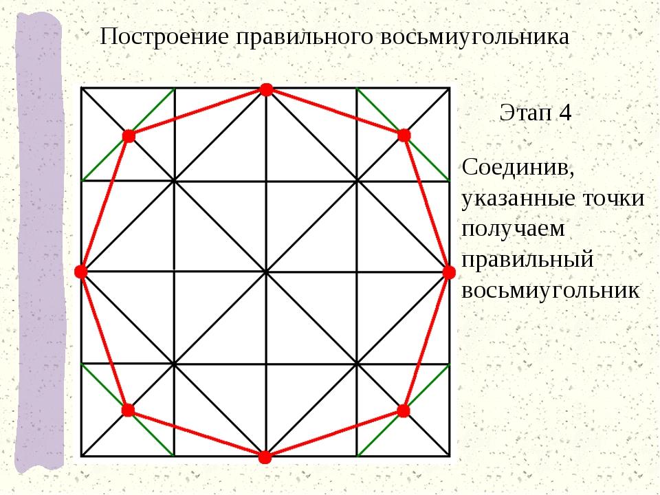 Восьмиугольник нарисовать