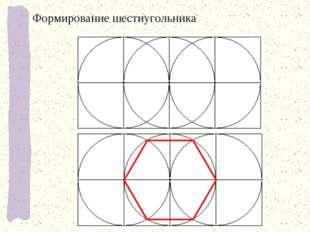 Формирование шестиугольника