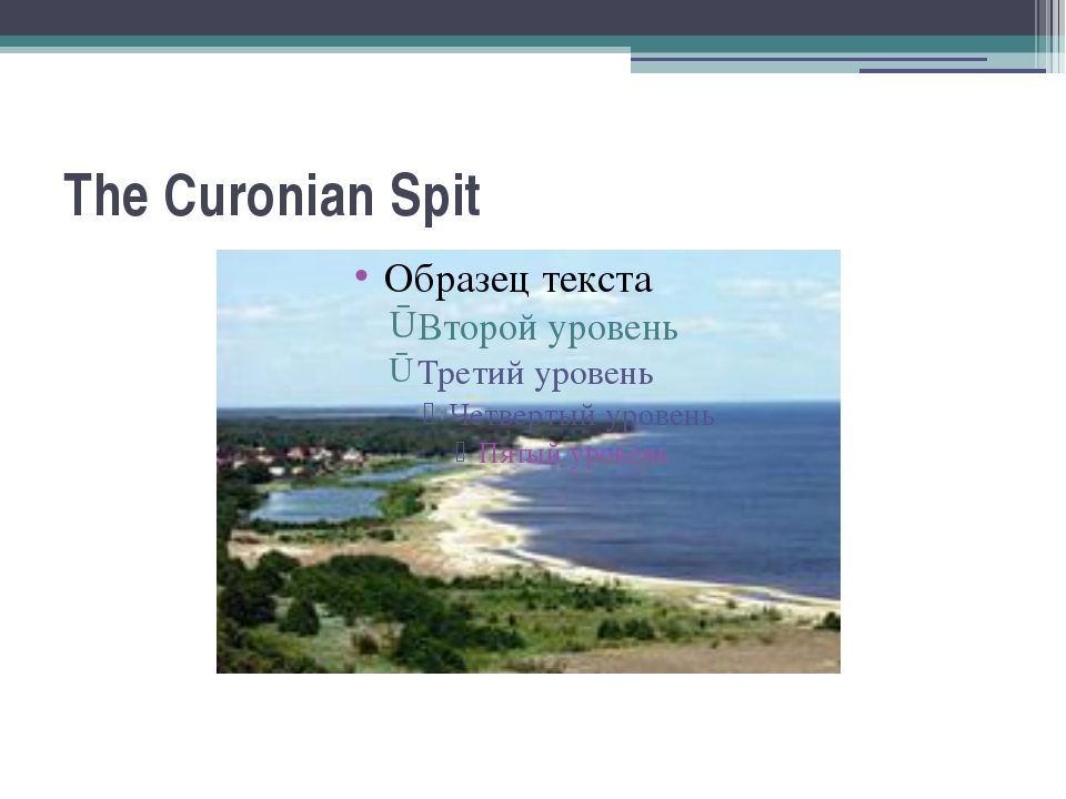 The Curonian Spit