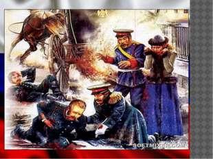…Нужно было скорее уезжать, но император вышел из кареты и направился к ранен