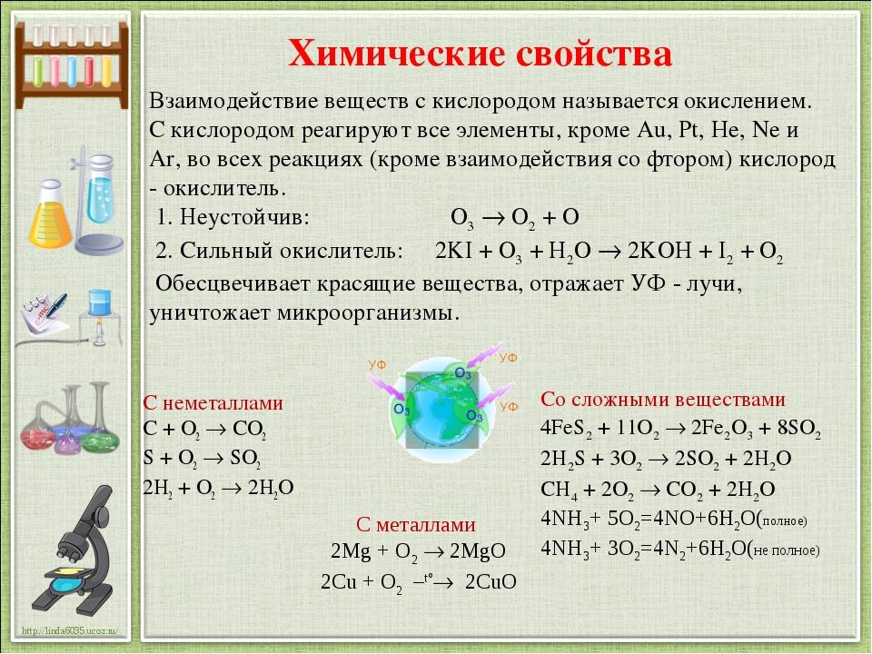Взаимодействие веществ с кислородом называется окислением. С кислородом реаги...