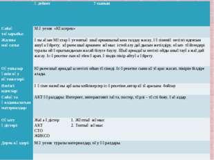 Әдебиет 7 сынып  Сабақ тақырыбы:М.Әуезов «Көксерек» Жалпы мақсаты:Ұл