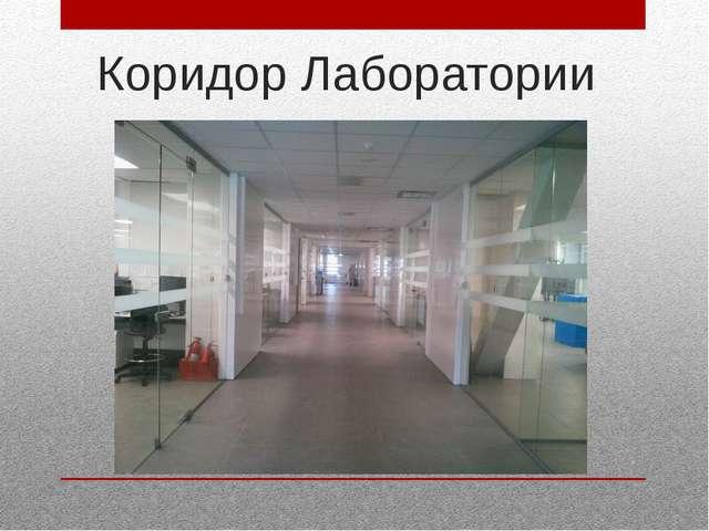 Коридор Лаборатории