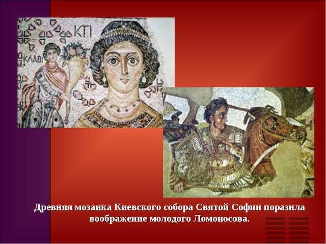 Древняя мозаика Киевского собора Святой Софии поразила воображение молодого Л...