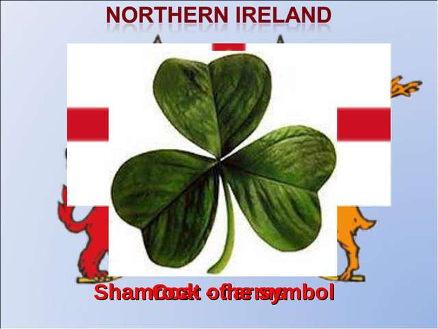 Coat of arms The flag Shamrock - the symbol