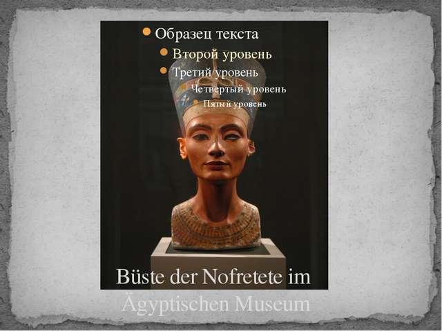 Büste der Nofretete im Ägyptischen Museum