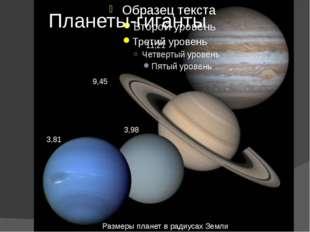 Внутреннее строение планет -гигантов Могут ли наблюдаться полярные сияния в а