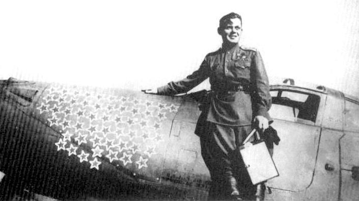 Air Fighters - Речкалов Григорий Андреевич - военный летчик дважды Герой Советского Союза - Русские авиаторы летчики-асы 1914 -