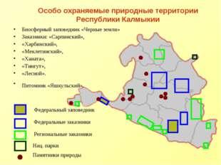 Особо охраняемые природные территории Республики Калмыкии Биосферный заповедн