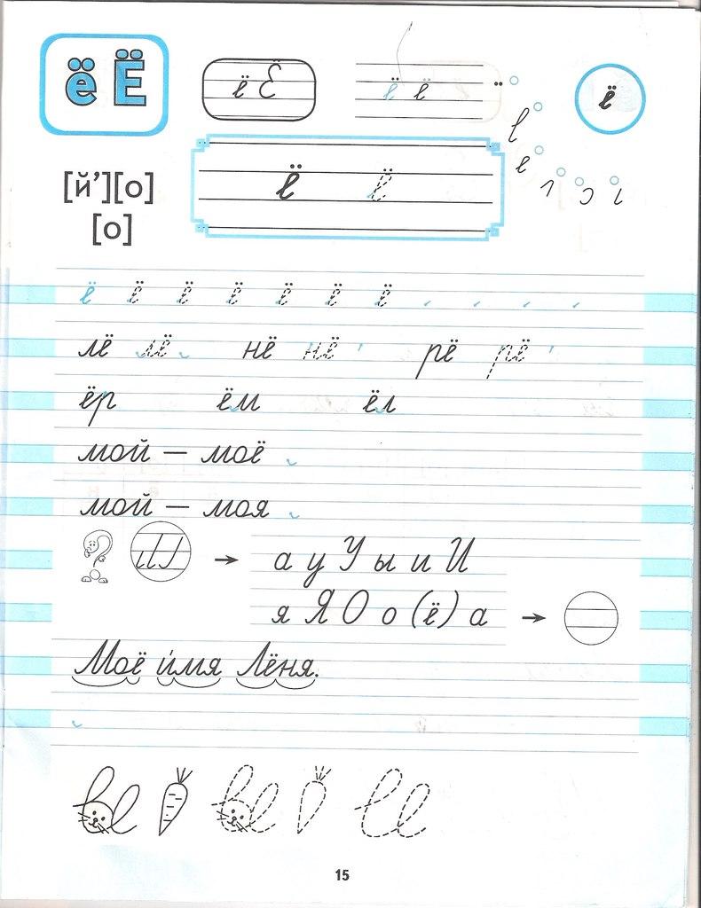 обучению 1 слов по схема грамоте карточки класс