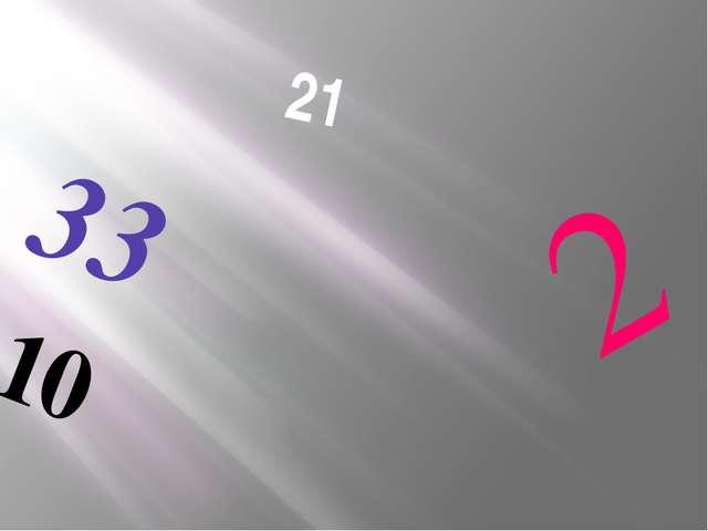 21 33 10 2 Как эти цифры связаны с алфавитом?