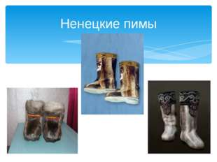 Ненецкие пимы