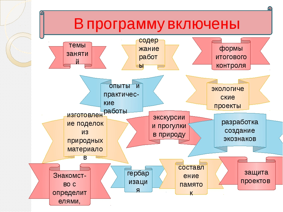 В программу включены темы занятий содержание работы формы итогового контроля...