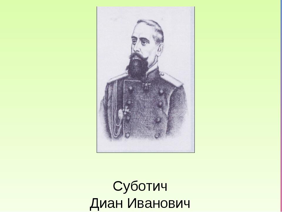 Суботич Диан Иванович