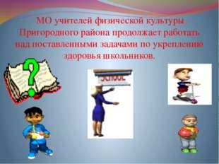 МО учителей физической культуры Пригородного района продолжает работать над