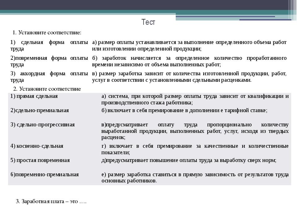 Тест для бухгалтера по зарплате аутсорсинг бухгалтерских услуг петербург