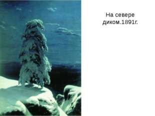 На севере диком.1891г.
