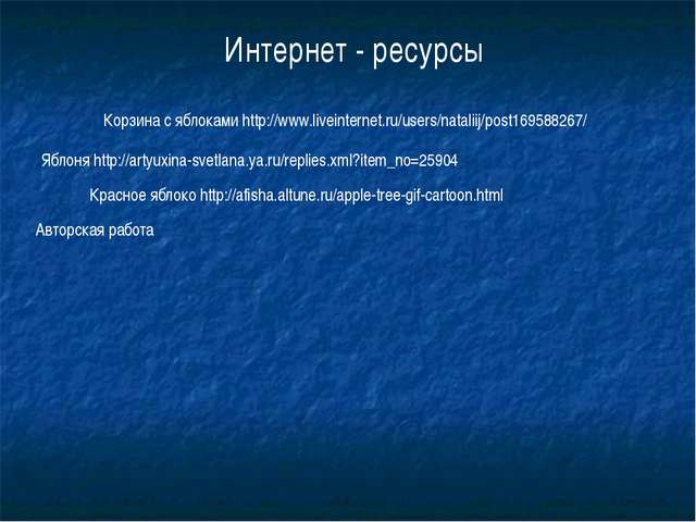 Корзина с яблоками http://www.liveinternet.ru/users/nataliij/post169588267/ Я...