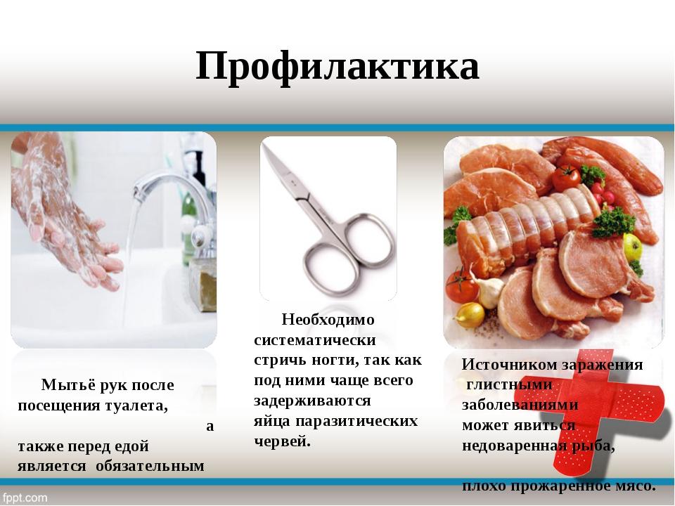 Профилактика Мытьё рук после посещения туалета, а также перед едой является о...