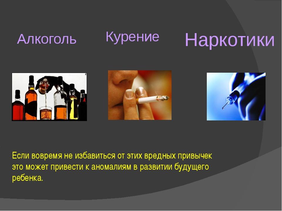 Вред алкоголя и табакокурения