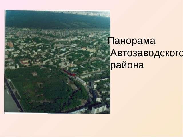 Панорама Автозаводского района