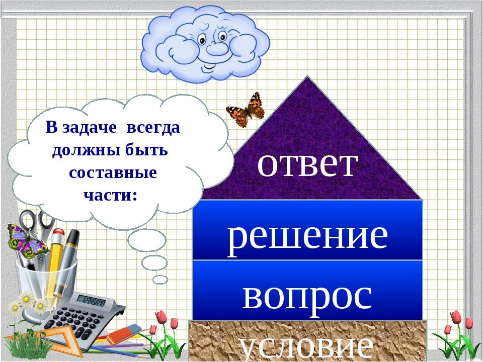 Презентация 1 задачей знакомство математика с класс