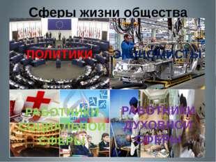 Сферы жизни общества Антонина Сергеевна Матвиенко Экономическая сфера Политич