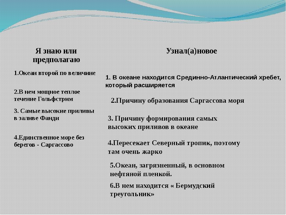 2.Причину образования Саргассова моря 3. Причину формирования самых высоких п...