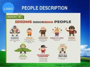 PEOPLE DESCRIPTION Company Logo LOGO