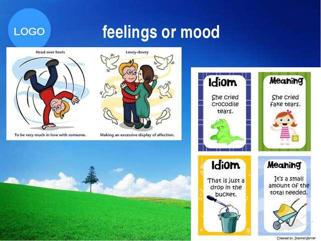 feelings or mood Company Logo LOGO