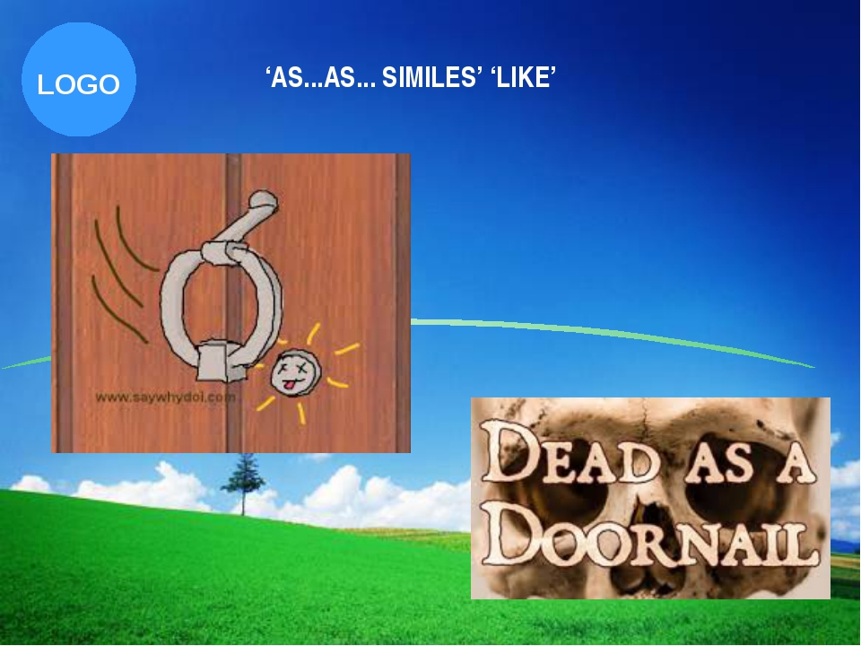 'AS...AS... SIMILES' 'LIKE' Company Logo LOGO