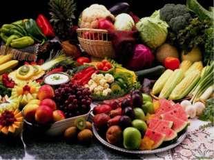 Как отличить овощи и фрукты? Овощи Фрукты Несладкие Сладкие, кисло – сладкие