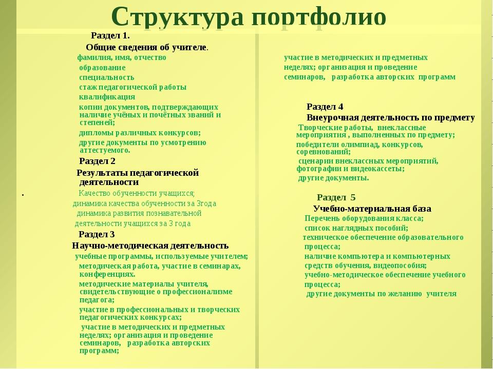 Как сделать портфолио педагога дополнительного образования - Naturapura.ru