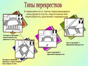 Трехсторонний У-образный перекресток Трехсторонний Т-образный перекресток Чет