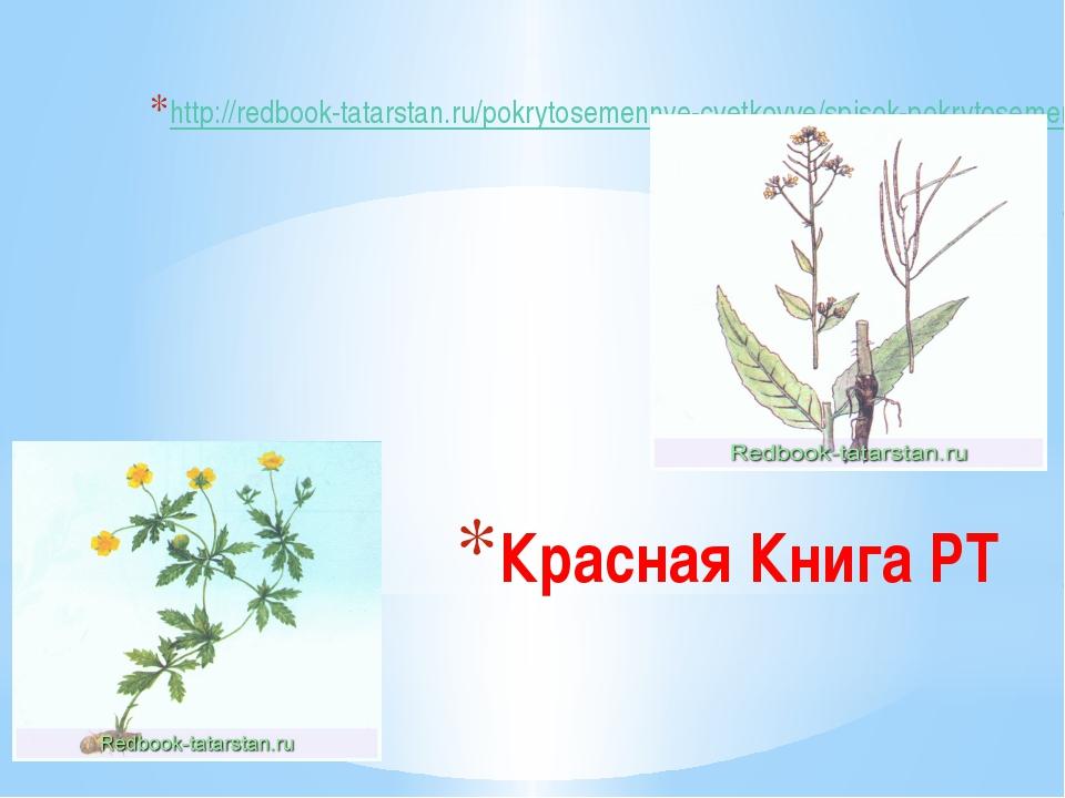 Красная Книга РТ http://redbook-tatarstan.ru/pokrytosemennye-cvetkovye/spisok...