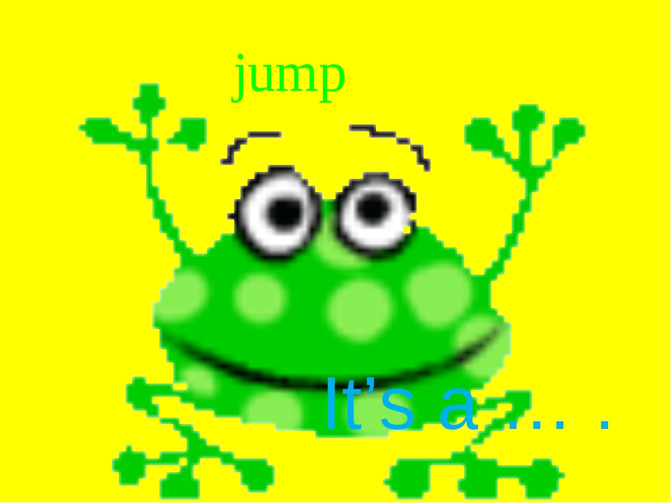 jump It's a … .