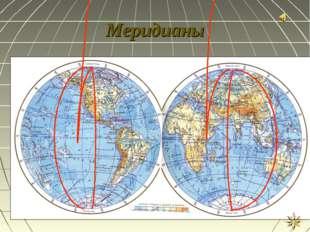Меридианы