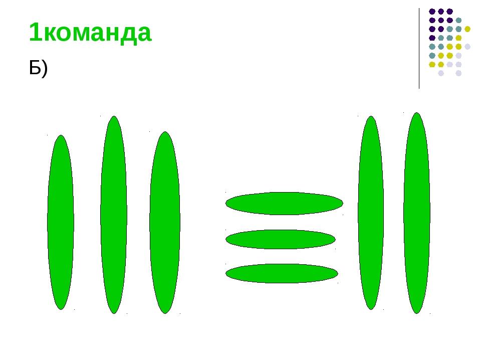 1команда Б)