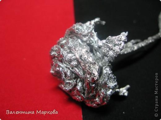 Мастер-класс Поделка изделие Плетение Роза из фольги мастер-класс Фольга фото 29