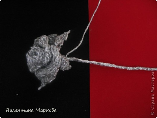 Как сделать из фольги розу для начинающих