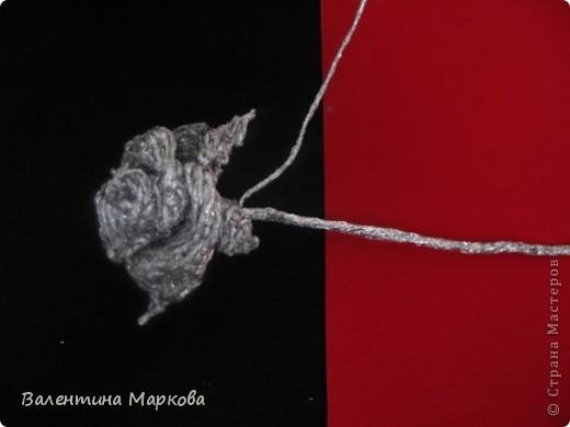 Мастер-класс Поделка изделие Плетение Роза из фольги мастер-класс Фольга фото 32